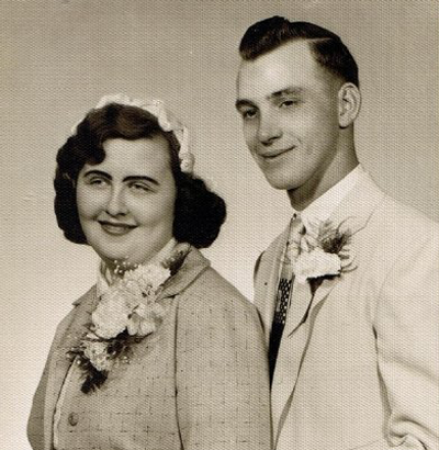 Mom and Dad, Wedding Picture