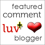 Featured CommentLuv Blogger
